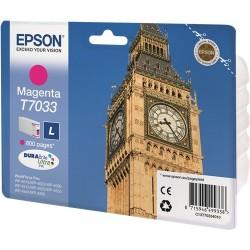 TINTA EPSON T7033 - ORIGINAL MAGENTA 1.200 PAGINAS