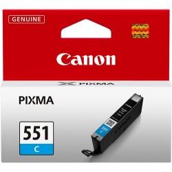 TINTA CANON 551 - CARTUCHO CANON CLI551 - ORIGINAL CYAN 11ml