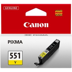 TINTA CANON 551 - CARTUCHO CANON CLI551 - ORIGINAL YELLOW 11ml