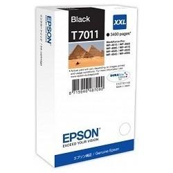 TINTA EPSON T7011 - ORIGNAL BLACK 3.400 PAGINAS