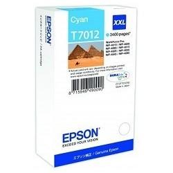 TINTA EPSON T7012 - ORIGINAL CYAN 3.400 PAGINAS