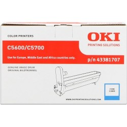TAMBOR OKI C5600 - ORIGINAL CYAN 20.000 PAGINAS