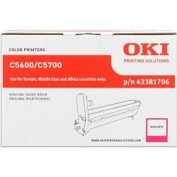 TAMBOR OKI C5600 - ORIGINAL MAGENTA 20.000 PAGINAS