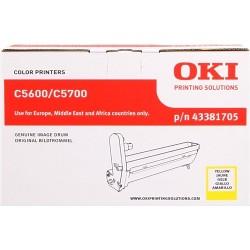 TAMBOR OKI C5600 - ORIGINAL YELLOW 20.000 PAGINAS