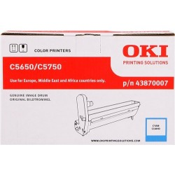 TAMBOR OKI C5650 - ORIGINAL CYAN 20.000 PAGINAS