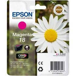 TINTA EPSON 18 - CARTUCHO EPSON T1802 - ORIGINAL MAGENTA 180 PAGINAS