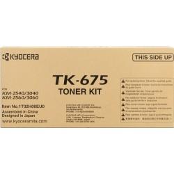 TONER KYOCERA TK675 - ORIGINAL BLACK 20.000 PAGINAS