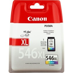 TINTA CANON 546XL - CARTUCHO CANON CL546XL - ORIGINAL COLOR 300 PAGINAS