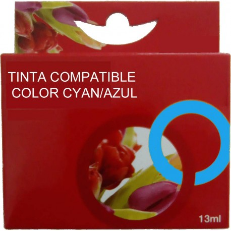 TINTA EPSON 24XL - CARTUCHO EPSON T2432 - COMPATIBLE CYAN 360 PAGINAS