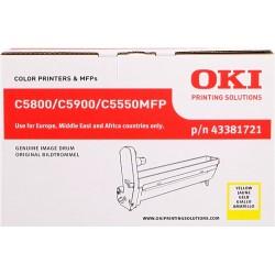 TAMBOR OKI C5800 - ORIGINAL YELLOW 20.000 PAGINAS