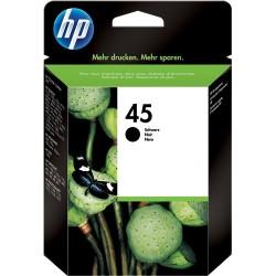 TINTA HP 45 - ORIGINAL BLACK 930 PAGINAS