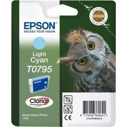 TINTA EPSON T0795 - ORIGINAL CYAN CLARO 560 PAGINAS