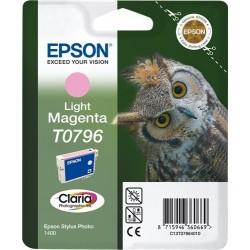 TINTA EPSON T0796 - ORIGINAL MAGENTA CLARO 1100 PAGINAS