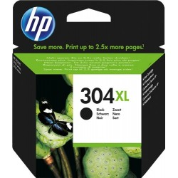 TINTA HP 304XL - ORIGINAL BLACK 300 PAGINAS