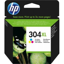 TINTA HP 304XL - ORIGINAL COLOR 300 PAGINAS