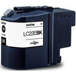 TINTA BROTHER LC22E - ORIGINAL BLACK 2.400 PAGINAS