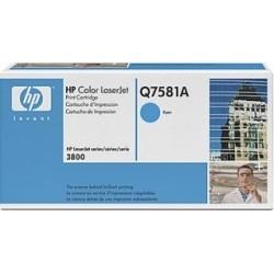 TONER HP 503A - TONER HP Q7581A - ORIGINAL CYAN 6.000 PAGINAS