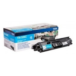 TONER BROTHER TN326 - ORIGINAL CYAN 4.000 PAGINAS