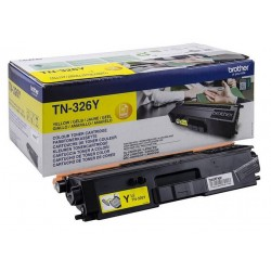 TONER BROTHER TN326 - ORIGINAL YELLOW 4.000 PAGINAS