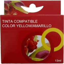 TINTA EPSON T0554 - COMPATIBLE YELLOW 8ml