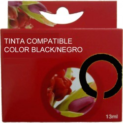 TINTA EPSON 26 - CARTUCHO EPSON T2621 - COMPATIBLE BLACK 500 PAGINAS