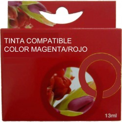 TINTA EPSON 26XL - CARTUCHO EPSON T2633 - COMPATIBLE MAGNETA 700 PAGINAS