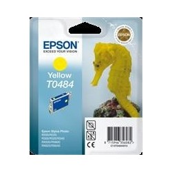 TINTA EPSON T0484 - ORIGINAL YELLOW 13ml
