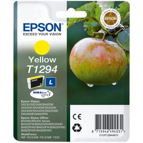 TINTA EPSON T1294 - ORIGINAL YELLOW 7ml