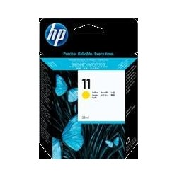 TINTA HP 11 - ORIGINAL YELLOW 28ml