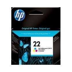 TINTA HP 22 - ORIGINAL COLOR 165 PAGINAS