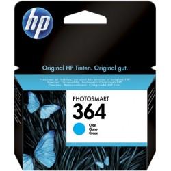 TINTA HP 364 - ORIGINAL CYAN 300 PAGINAS