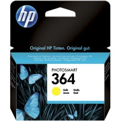 TINTA HP 364 - ORIGINAL YELLOW 300 PAGINAS