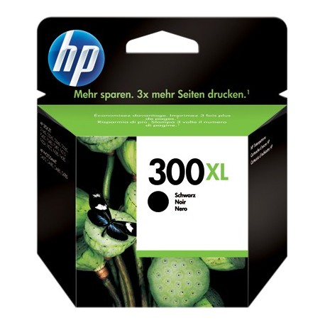 TINTA HP 300XL - ORIGINAL BLACK 600 PAGINAS