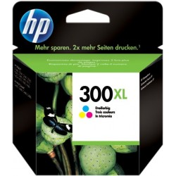 TINTA HP 300XL - ORIGINAL COLOR 420 PAGINAS