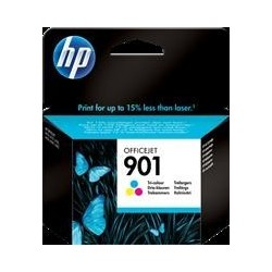 TINTA HP 901 - ORIGINAL COLOR 360 PAGINAS