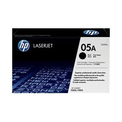 TONER HP 05A - TONER HP CE505A - ORIGINAL BLACK 2.300 PAGINAS