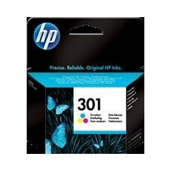 TINTA HP 301 - ORIGINAL COLOR 165 PAGINAS