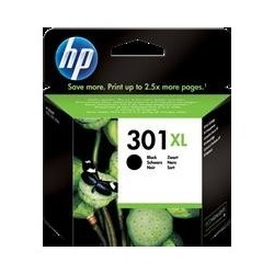 TINTA HP 301XL - ORIGINAL BLACK 480 PAGINAS
