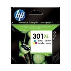 TINTA HP 301XL - ORIGINAL COLOR 330 PAGINAS