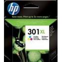 TINTA HP 301XL - ORIGINAL COLOR 330 PAGINAS
