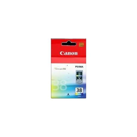 TINTA CANON 38 - CARTUCHO CANON CL38 - ORIGINAL COLOR 205 PAGINAS