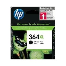 TINTA HP 364XL - ORIGINAL BLACK 550 PAGINAS