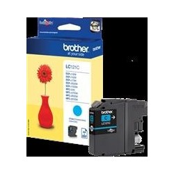 TINTA BROTHER LC121 - ORIGINAL CYAN 300 PAGINAS