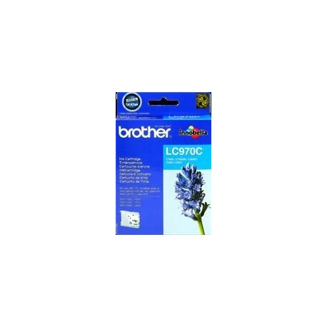 TINTA BROTHER LC970 - ORIGINAL CYAN 300 PAGINAS