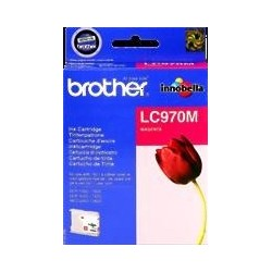 TINTA BROTHER LC970 - ORIGINAL MAGENTA 300 PAGINAS