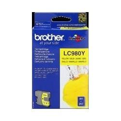 TINTA BROTHER LC980 - ORIGINAL YELLOW 260 PAGINAS