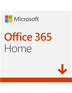 MICROSOFT OFFICE 365 HOME 6 USUARIOS ( LIC. ELECTRONICA )