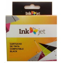 TINTA HP 62XL - COMPATIBLE BLACK 600 PAGINAS