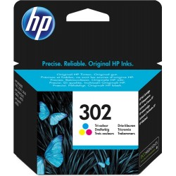 TINTA HP 302 - ORIGINAL COLOR 165 PAGINAS