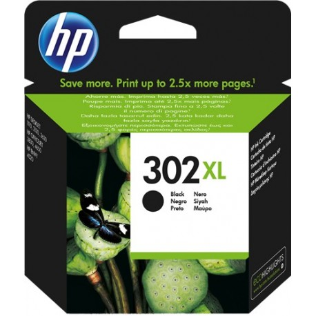 TINTA HP 302XL - ORIGINAL BLACK 480 PAGINAS